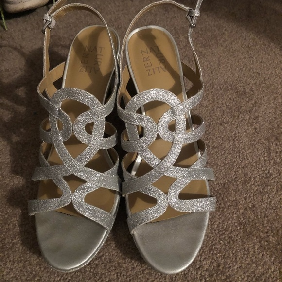 Naturalizer Shoes - Silver heels